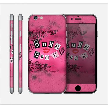 The Burn Book Pink Skin for the Apple iPhone 6