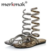 Crystal Gladiator Sandals for Cosplay Fun