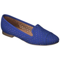 Women's Xhilaration® Lisbeth Smoker Flat -  Blue