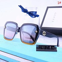GUCCI New fashion polarized metal bee couple glasses eyeglasses