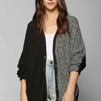 Sparkle & Fade Colorblock Cardigan - Black Multi XS