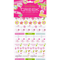 Lilly Pulitzer Agenda Sticker Set