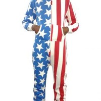 American Flag Onesuits for Mens & Women | Skylinewears