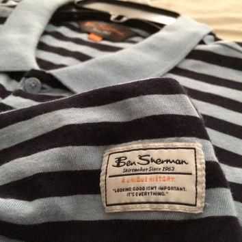 Sale!! Vintage Ben Sherman casual Polo shirt size Large Free shipping within the USA