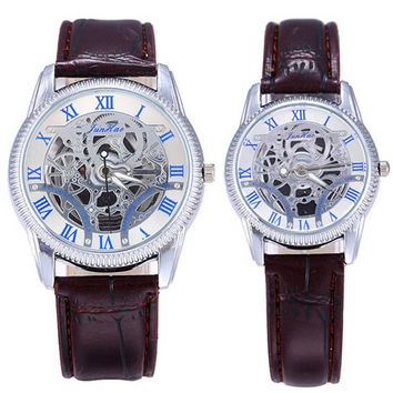 Lover Leather Strap Watches Business Casual Sports Watch for Couple Best Christmas Gift
