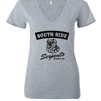 "Riverdale ""South Side Serpents"" Women's V-Neck T-Shirt"