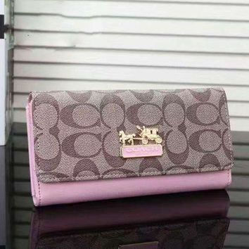 ONETOW COACH Woman shopping hand bag pink