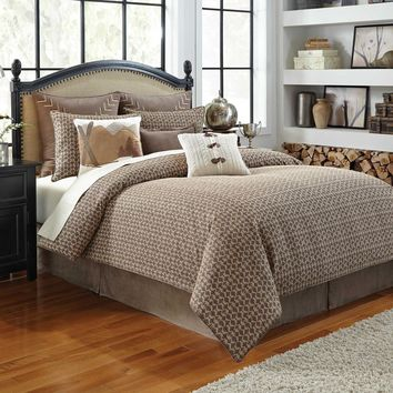 Croscill Aspen Jacquard Decorative Duvet Cover