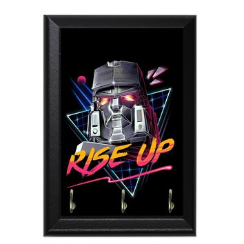 Rise Up Decorative Wall Plaque Key Holder Hanger