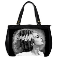Bride of Frankenstein large hand bag