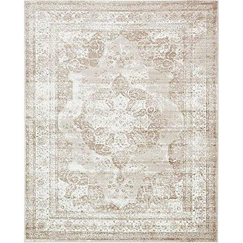 2048 Beige Distressed Oriental Area Rugs