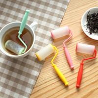 Tea tool Creative Paint Brush Paint Roller Tea Infuser/Tea Strainer/Coffee & Tea Sets/silicone