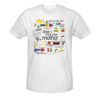 HOW I MET YOUR MOTHER QUOTE MASHUP T-SHIRT
