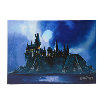 Harry Potter Hogwarts Canvas Wall Art