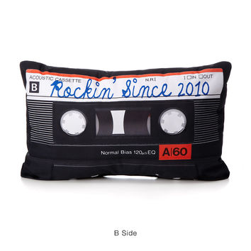 Personalized Mixtape Pillow | mixtape, custom pillow