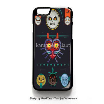 Moon The Legend Of Zelda Majora for iPhone 4 4S 5 5S 5C 6 6 Plus , iPod Touch 4 5  , Samsung Galaxy S3 S4 S5 Note 3 Note 4 , and HTC One X M7 M8 Case Cover