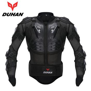 DUHAN Professional Motocross Racing Full Body Armor Spine Chest Protective Jacket