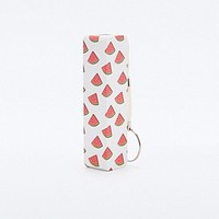 Audiology Portable Phone Charger in Watermelon Print - Urban Outfitters