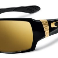 Oakley Shaun White Signature Series Offshoot Polished Black/24K Iridium Lens Sunglasses
