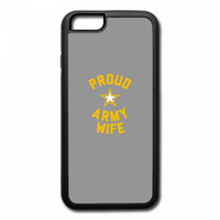 proud army wife iPhone 7 Plus Case