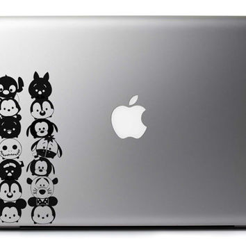 Tsum Tsum Minis Inspired Vinyl Decal Laptop Wall & Vehicle Art : Japanese Skin Sticker Stack Stack + Free Shipping!