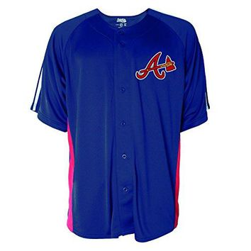 MLB Men's Button Down Fashion Jersey
