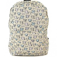Backpack - Dogs and Bones Print Backpack