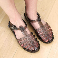 Jelly Pad Sandals