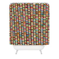 Sharon Turner Stack Shower Curtain