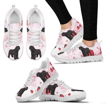 Valentine's Day Special-Bouvier des Flandres Print Running Shoes For Women-Free Shipping