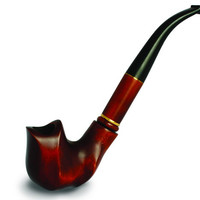 Wooden pipe, Tobacco Pipe, Collection Long Tobacco Pipe. Wooden Handmade. Wood Pipe - DALI NEW