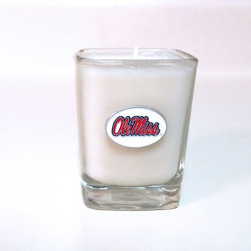 Ole Miss Candle - Soy Shot Glass Candle - CHOICE OF SCENT