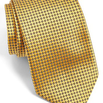 Men's J.Z Richards Dot Silk Tie, Size Regular