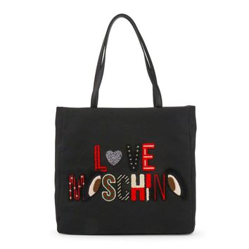 Love Moschino Jc4292Pp06Kn Women Black Shopping bags
