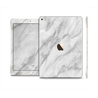 The White Marble Surface Skin Set for the Apple iPad Air 2