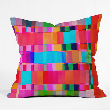 Rebecca Allen Grafted In Throw Pillow