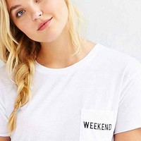 Mouchette Weekend Pocket Tee