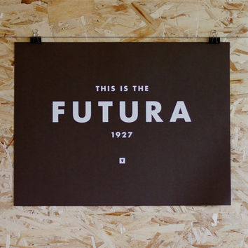 Futura Print - Hand Screen Printed - Limited Edition