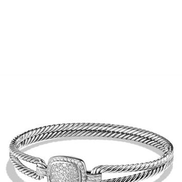 Women's David Yurman 'Albion' Bracelet with Diamonds - Diamond