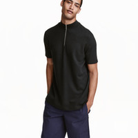 H&M Mock Turtleneck T-shirt $29.99