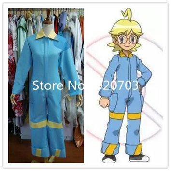 Pocket Monsters Clemont  Shitoron Cosplay CostumeKawaii Pokemon go  AT_89_9