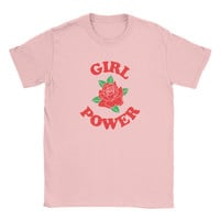 Feminist Girl Power Shirt *New Version*