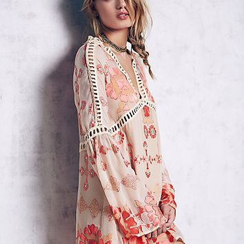 For Love & Lemons Womens Barcelona A-Line Dress