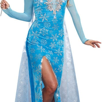 women's costume: ice queen | small