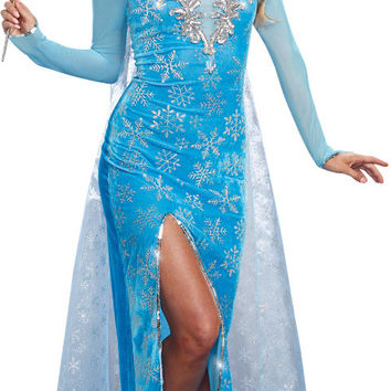 women's costume: ice queen | large