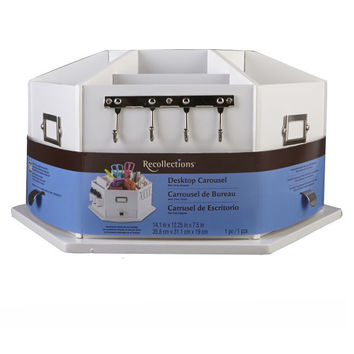 Recollections™ Storage Desktop Carousel