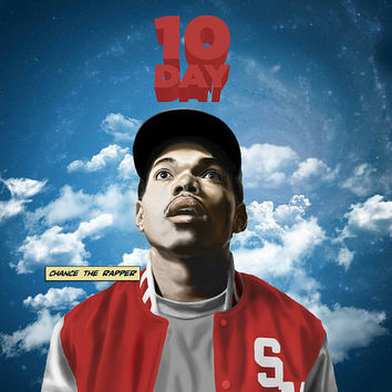 Chance the Rapper Acid Rap Music 10 Day Art Silk Print Poster 24x24inch Brand New GA0083(2)