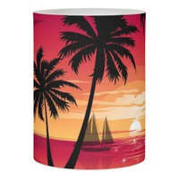 Summer Flameless Candle
