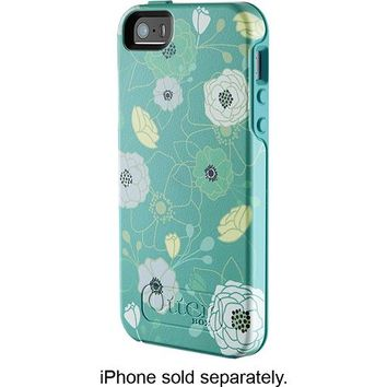OtterBox - Symmetry Case for Apple® iPhone® 5 and 5s - Eden Teal