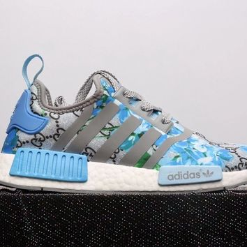 GUCCI x Adidas NMD Fashion Trending Leisure Running Sports Shoes